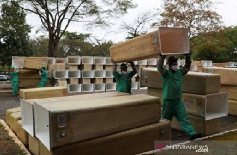 Jaga Jarak Dicabut, Kondisi Brasil Sangat Buruk, 60.632 Kematian - JPNN.com
