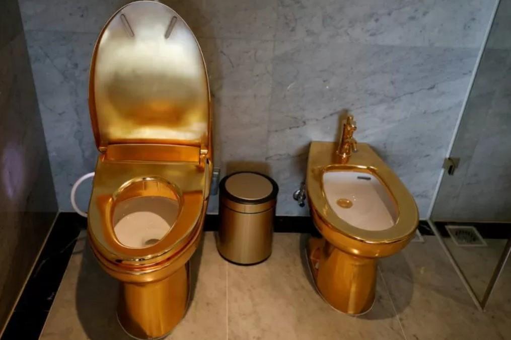 Berasa Jadi Sultan, Bagian Kamar Hotel Ini Berlapis Emas 24 Karat - JPNN.com
