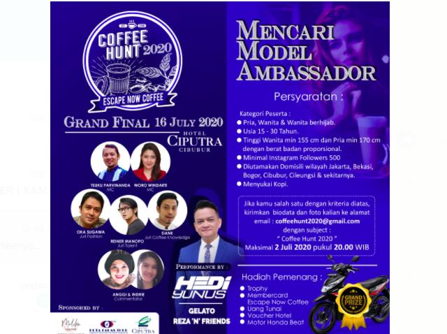 Escape Now Coffee Mencari Duta Kopi di Jabodetabek - JPNN.com