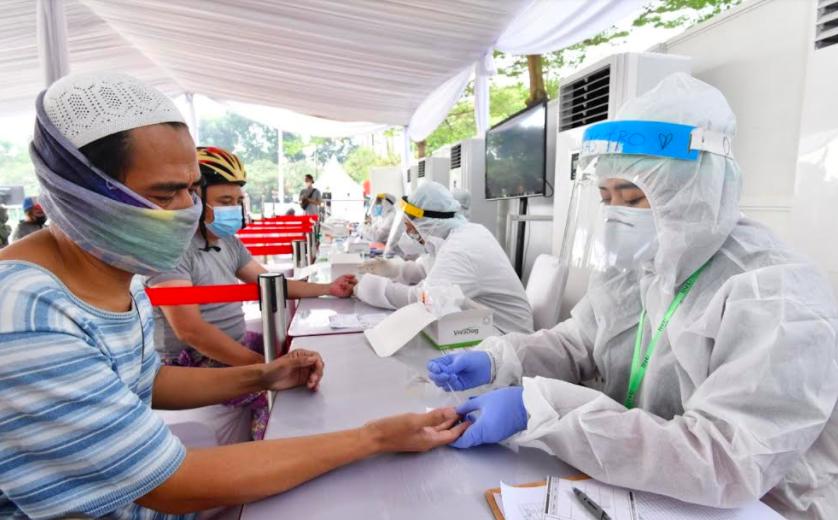 Gelar Rapid Test Massal di Pamulang, BIN Menemukan 10 Orang Reaktif - JPNN.com