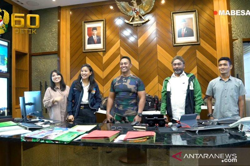 Jenderal Andika Dukung Program Bela Negara Olivia Zalianty Cs - JPNN.com