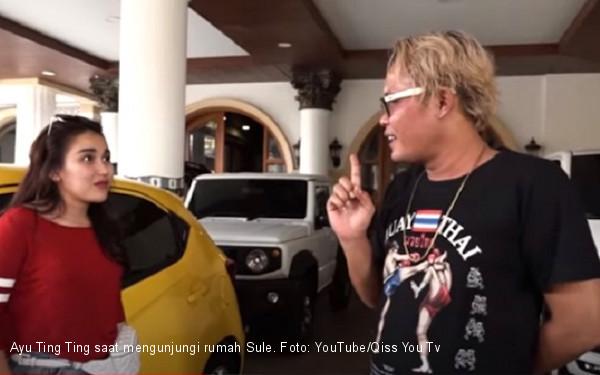 Ayu Ting Ting Sebut Kamar Kang Sule Rapi Banget, Cuma Mukanya Enggak - JPNN.com