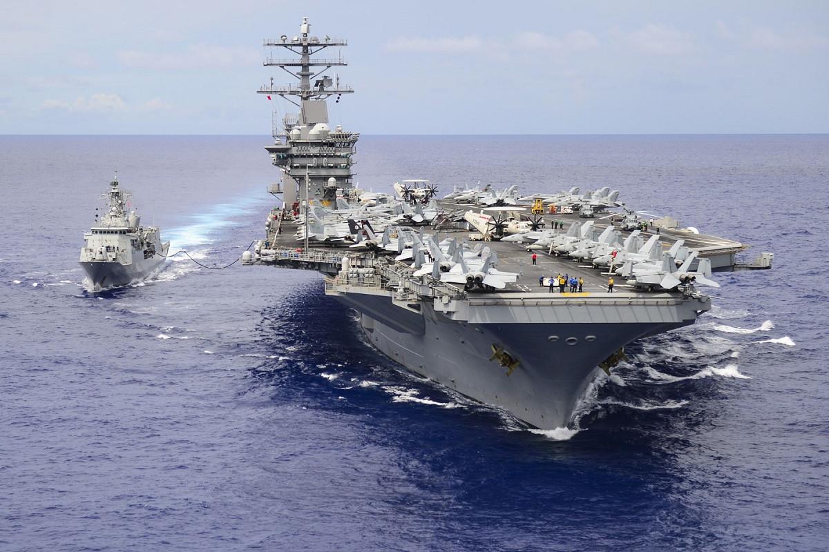 Kapal Induk Amerika Beraksi di Laut China Selatan, Tiongkok Cuma Bisa Melongo - JPNN.com