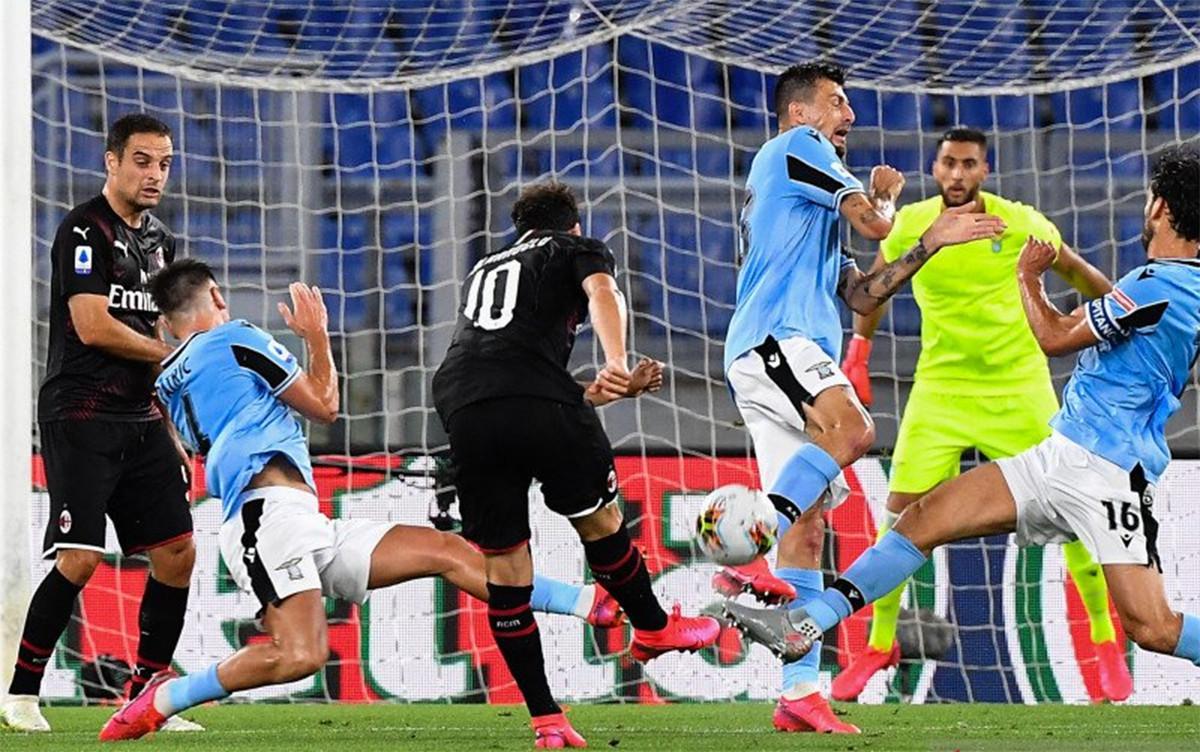 Lazio Vs Milan Berakhir Dramatis, Ronaldo Ngotot,