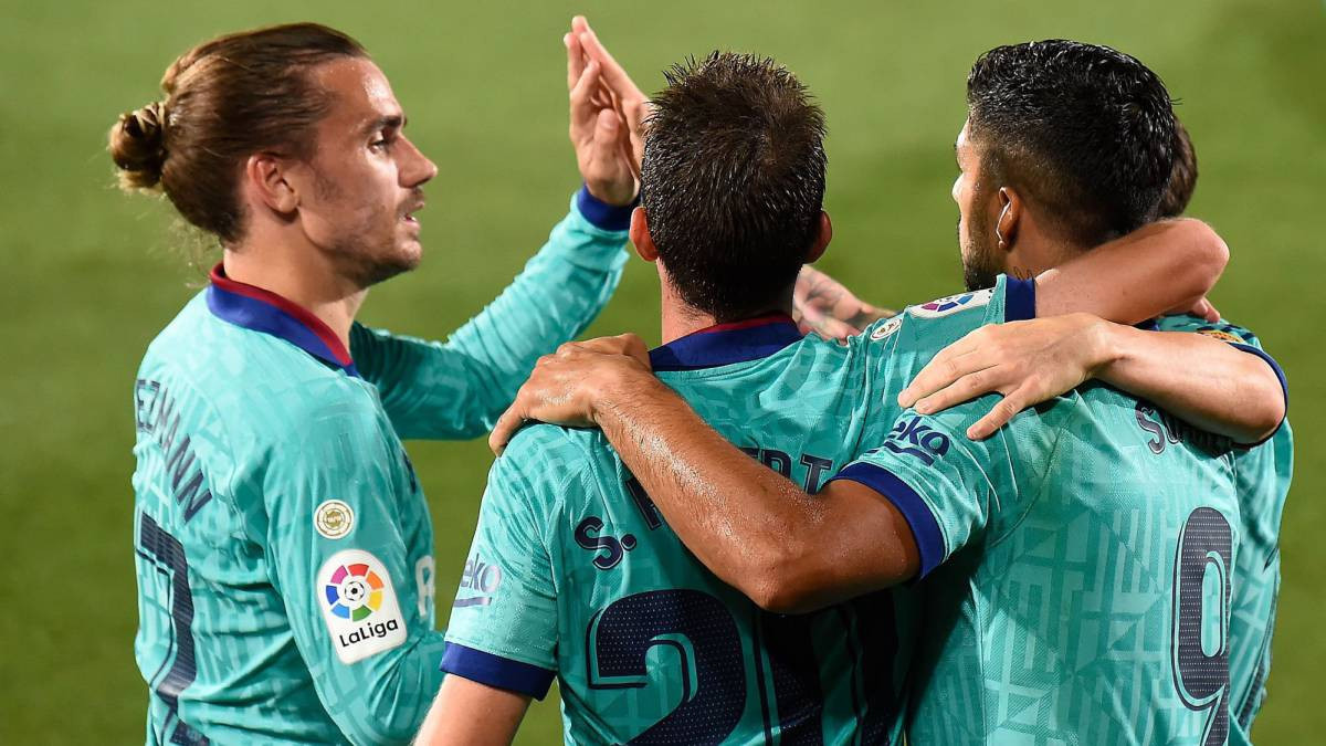 Barcelona Hantam Villarreal, Gol Messi Tak Dihitung - JPNN.com