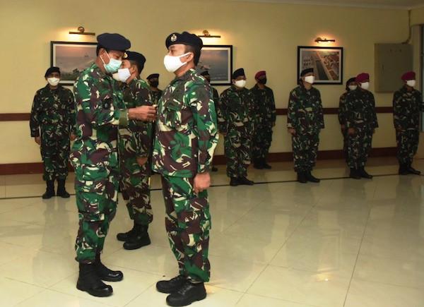 Sah! Kolonel Laut Rully Riono Resmi Menjabat Kepala Departemen Strategi Seskoal - JPNN.com