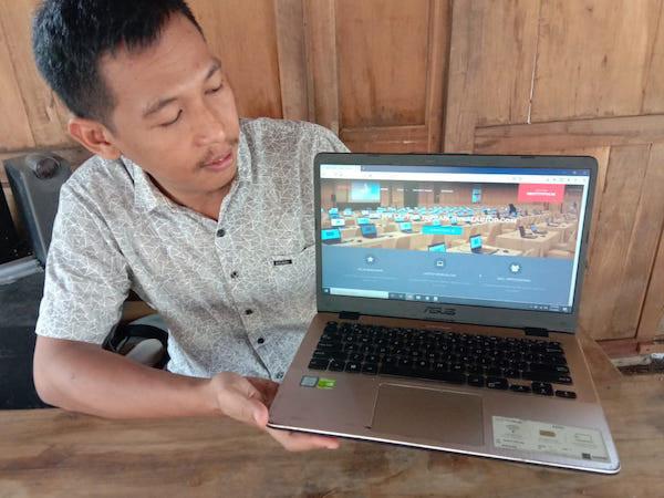 Di Tengah Pandemi, Alumnus Amikom Yogyakarta Bikin Website Sewa Laptop - JPNN.com