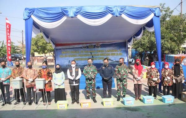 Ciptakan Kampung Tangguh, Pangkoarmada II Gelar Bakti Sosial di RSS Wonosari Surabaya - JPNN.com