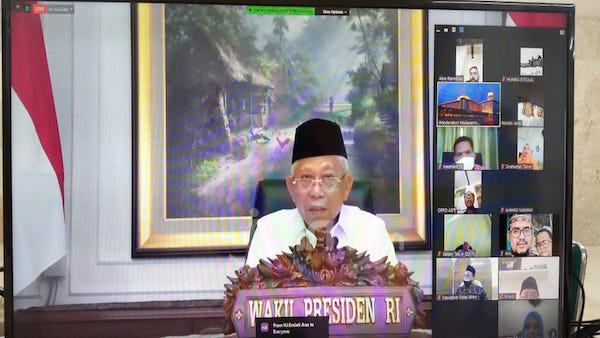 Wapres Kiai Ma'ruf: Masjid Harus Jadi Pusat Peradaban - JPNN.com