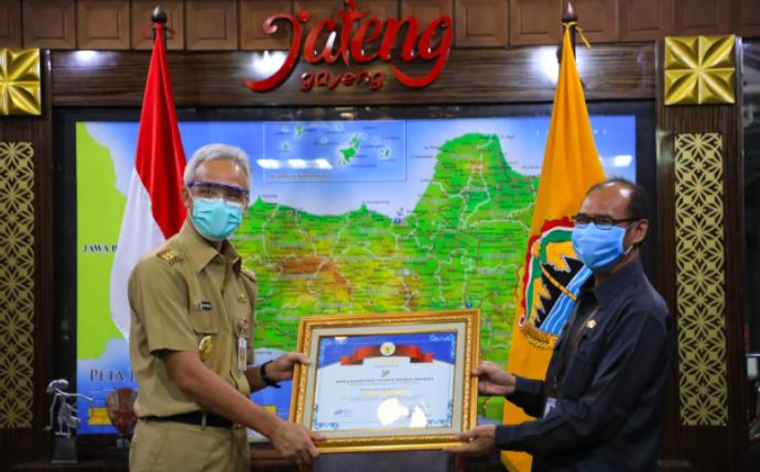 Pemprov Jateng Raih Penghargaan dari BPS Pusat, Ganjar Ucap Terima Kasih pada Warga - JPNN.com