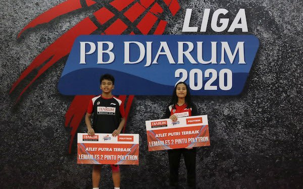 Iqbal Asrullah dan Mutiara Ayu Jadi Atlet Terbaik Liga PB Djarum 2020 - JPNN.com