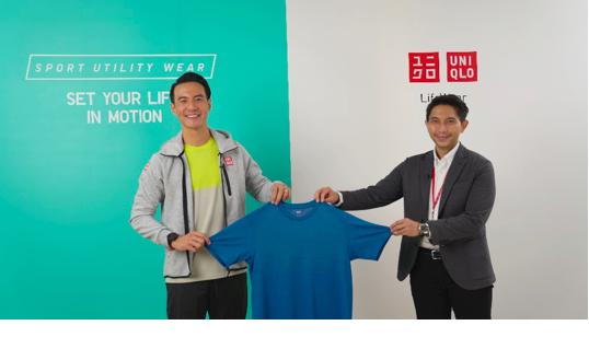 Daniel Mananta jadi Brand Ambassador UNIQLO Sport Utility Wear - JPNN.com