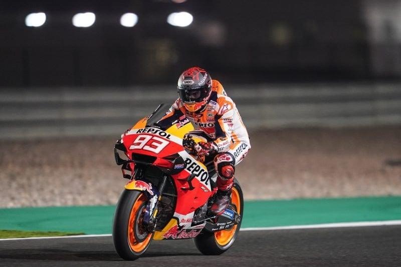 Sesi Pagi MotoGP Tes di Sirkuit Jerez, Marquez Unggul Dari Rossi - JPNN.com