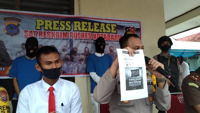 Rutin Posting Konten Terlarang di Media Sosial, Dua Pemuda Asal Pamukan Barat Ditangkap - JPNN.com