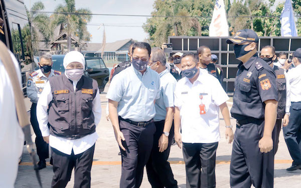Menteri Edhy Lepas Ekspor Kawasan Berikat PT Kirana Food International - JPNN.com