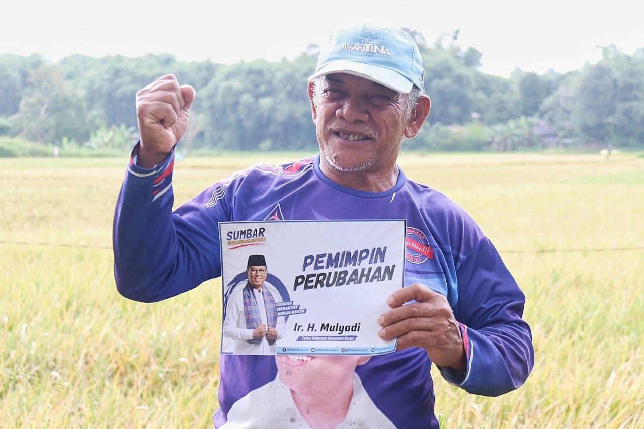 Petani Padang Pariaman Berterima Kasih Kepada Pak Mulyadi - JPNN.com
