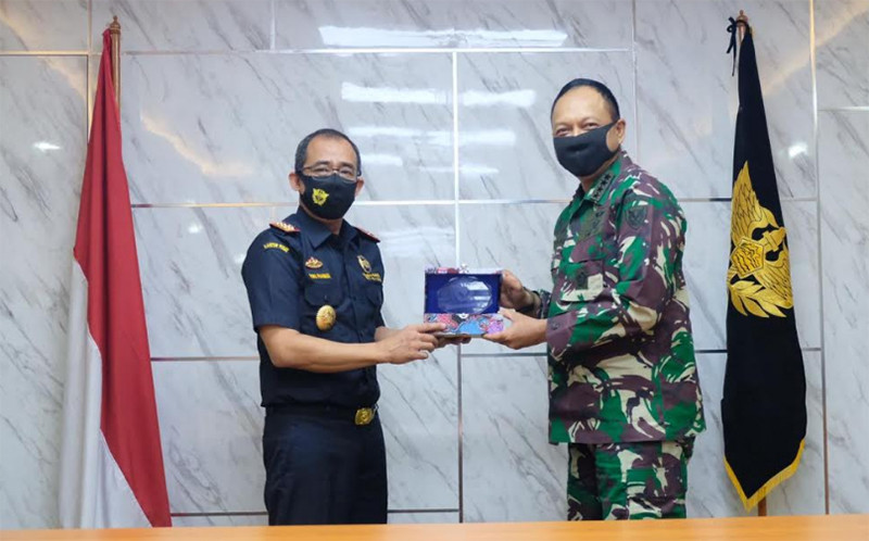 Penguatan Sinergi, KASAU Marsekal Fadjar Prasetyo Kunjungi Kantor Pusat Bea Cukai - JPNN.com