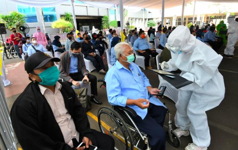 Covid-19 Mulai Sasar Perkantoran, BIN dan DJKN Jakarta Gelar Rapid Test Massal - JPNN.com