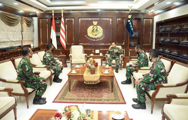 Tiga Perwira Tinggi TNI AL Kompak Menghadap KSAL, Ada Apa? - JPNN.com