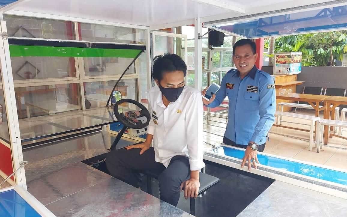 Mobilisasi Listrik UMKM Karya SMK MODEL PGRI 1 Mejayan Siap Diproduksi Massal - JPNN.com