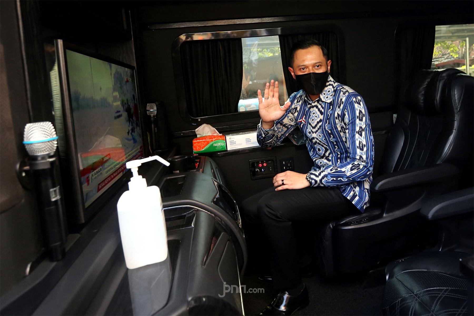 AHY: Semoga Bu Megawati Soekarnoputri Sehat Walafiat - JPNN.com