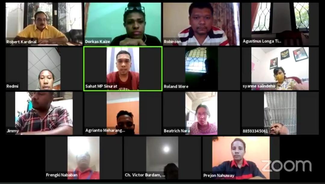 Webinar Rumah Milenial Indonesia: SDM Unggul, UMKM Berkembang, Papua Maju - JPNN.com