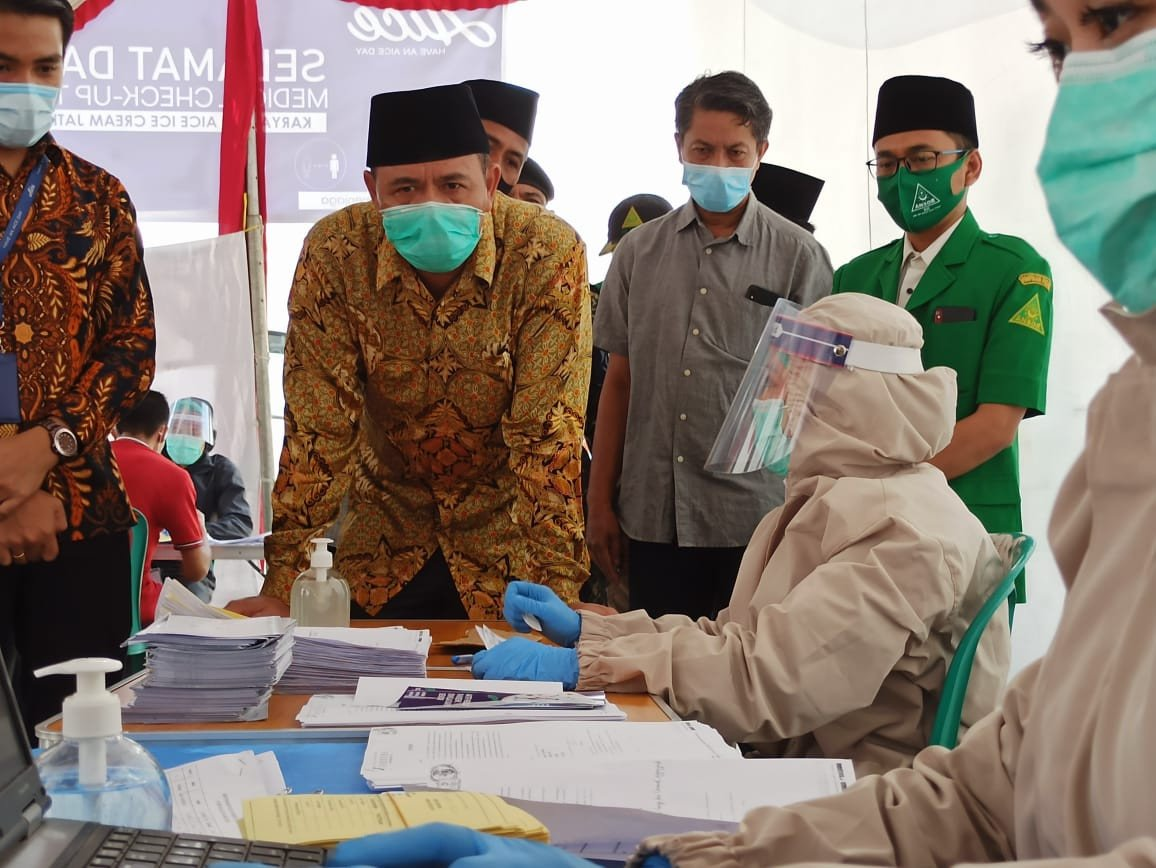 Dukung Pemerintah, AICE Group Gelar Rapid Test Massal Terhadap 1.800 Pekerjanya di Mojokerto - JPNN.com