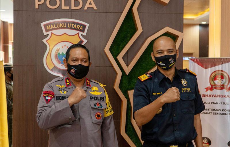 Pandemi Tak Halangi Bea Cukai Kawal Pemulihan Ekonomi di Maluku Utara - JPNN.com