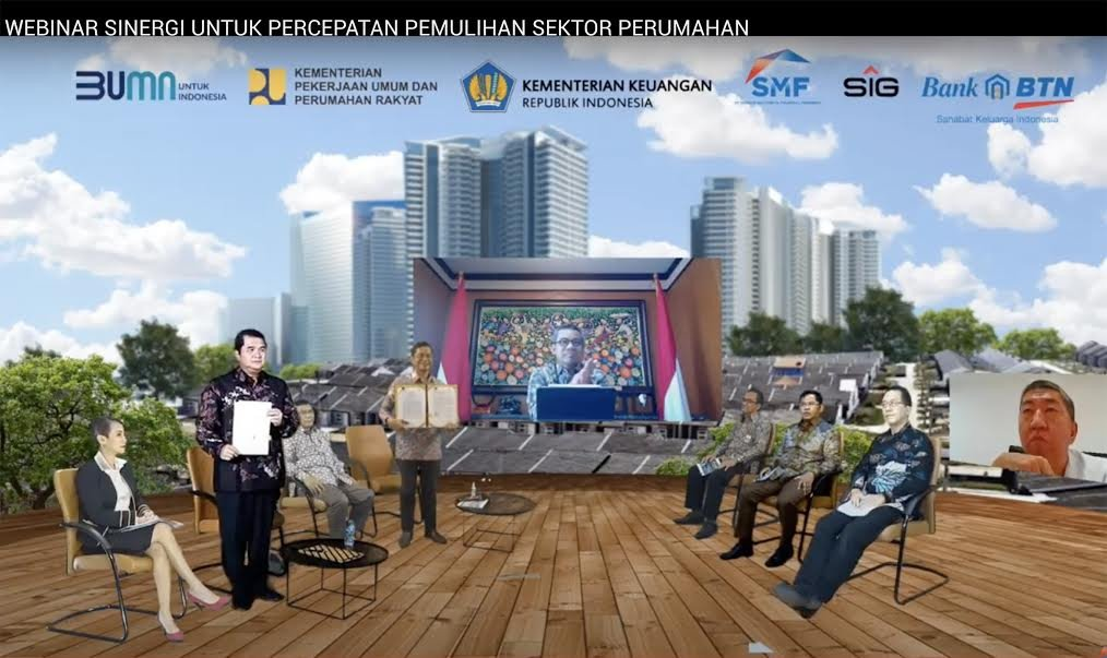 SIG Gandeng BTN Jalin Kerja sama Percepatan Pembangunan Perumahan - JPNN.com