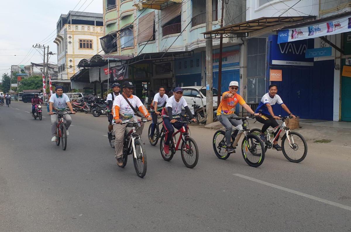 Virtual Ride Indonesia Kampanyekan Kesadaran Aman Bersepeda - JPNN.com