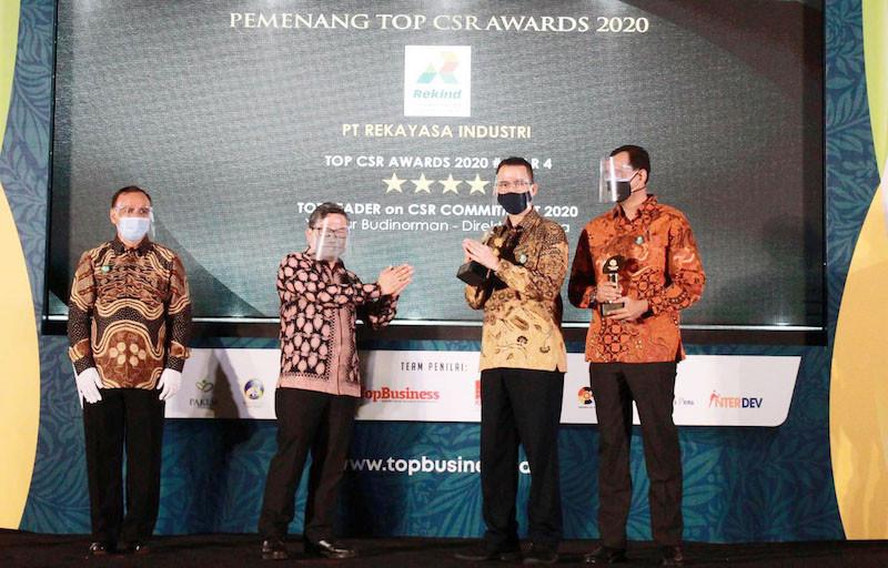 Rekind Diganjar 2 Penghargaan Top CSR Awards 2020 - JPNN.com