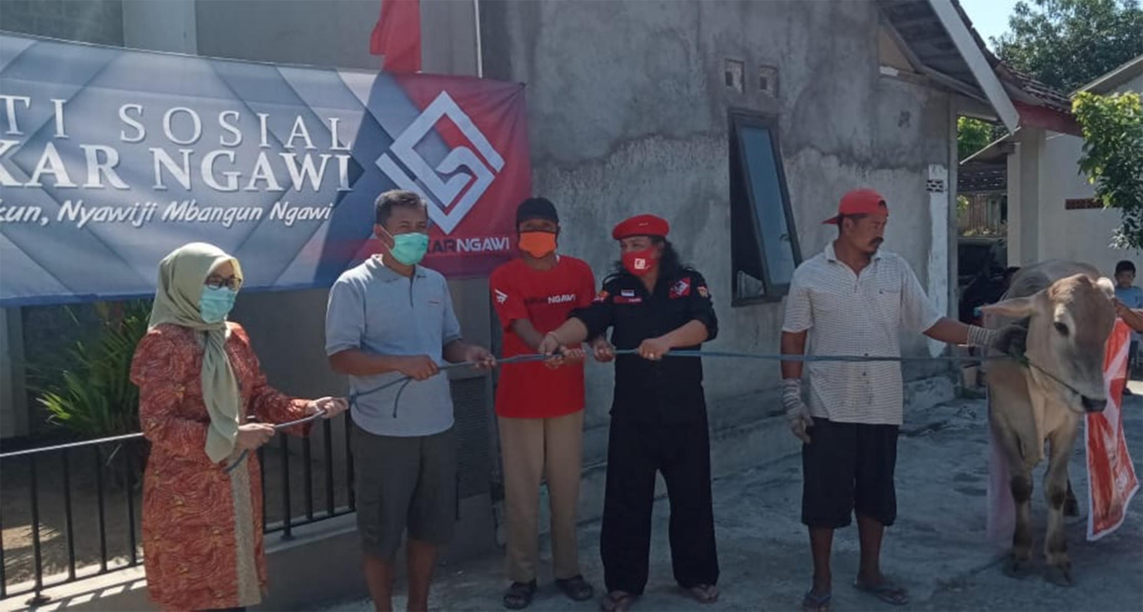 Laskar Ngawi Berbagi Hewan Kurban, Semoga Bermanfaat Buat Masyarakat - JPNN.com