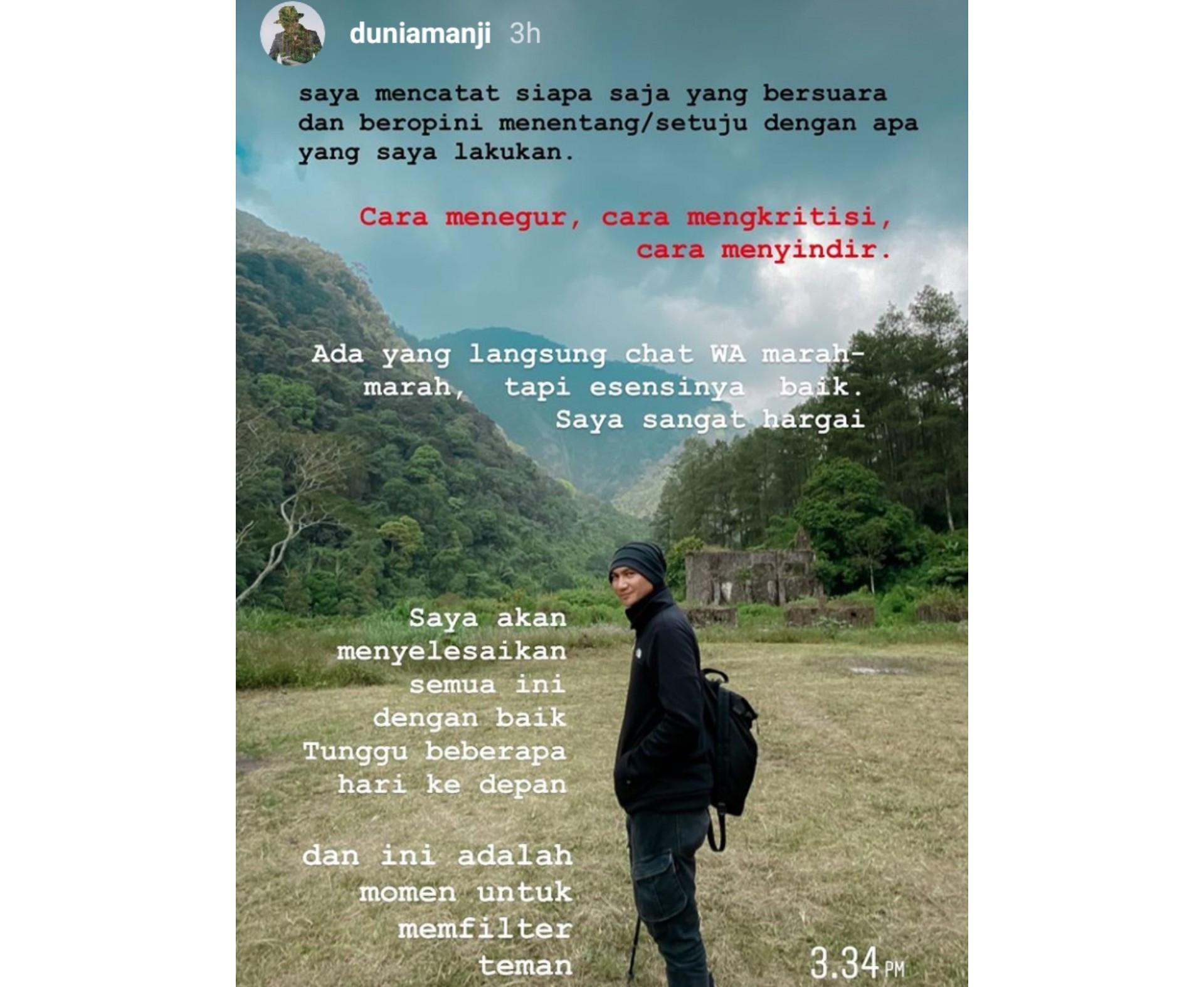 Nah Lho, Anji Sudah Menandai Orang-Orang yang Mengkritiknya - JPNN.com