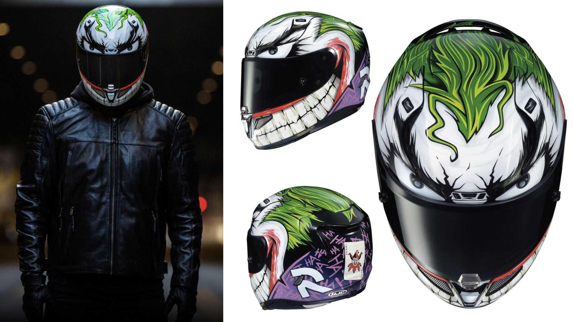 Intip Helm Full Face Bertema ala Joker, Sebegini Harganya - JPNN.com