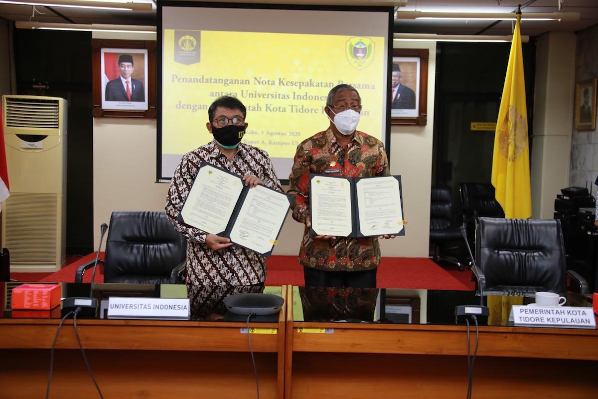Pemkot Tidore Kepulauan Gandeng UI Tingkatkan SDM - JPNN.com