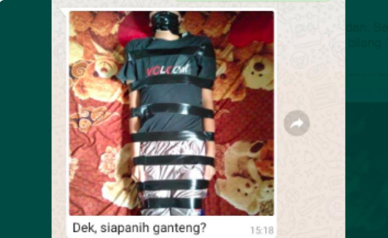 Cerita Lengkap Korban Fetish Jarik: Gilang Bungkus Sering Puji Pria Ganteng dan Minta Dipeluk - JPNN.com
