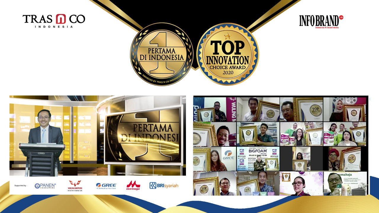 Puluhan Brand Raih Top Innovation Choice Award 2020 - JPNN.com