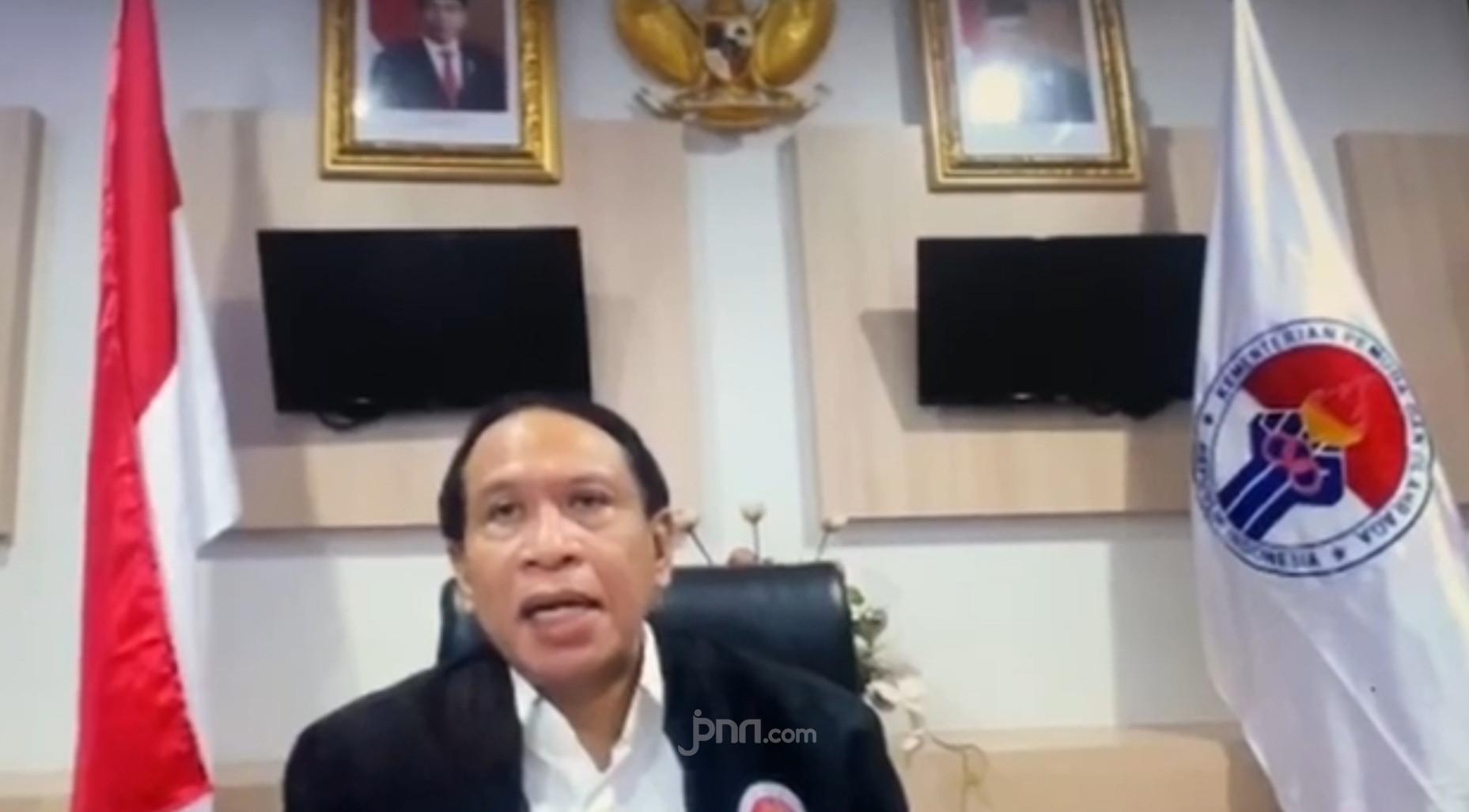Pesan Menpora Zainudin Amali Untuk Paskirabaka 2020 - JPNN.com