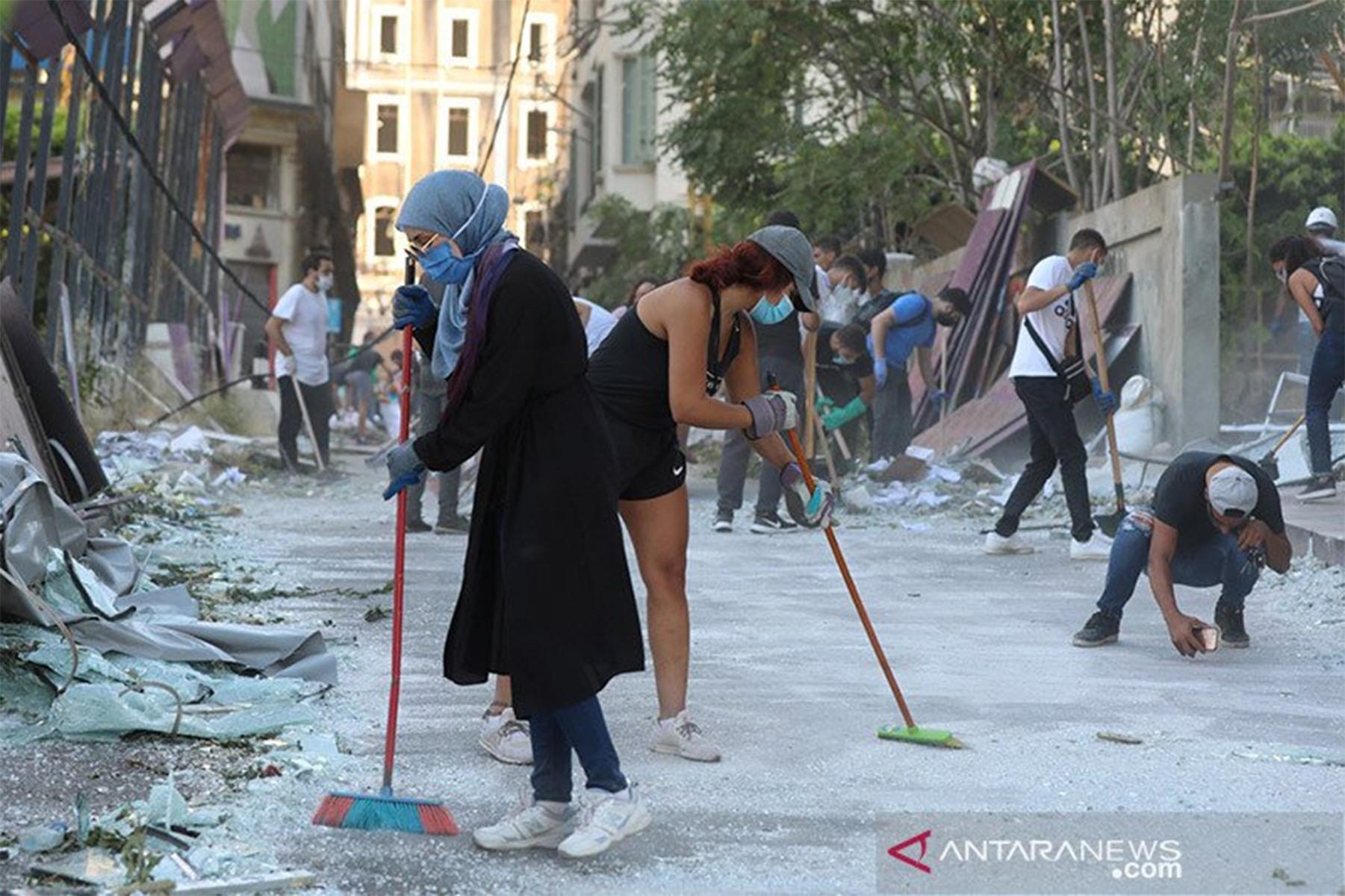 250 Ribu Orang Kehilangan Tempat Tinggal Setelah Ledakan di Beirut - JPNN.com