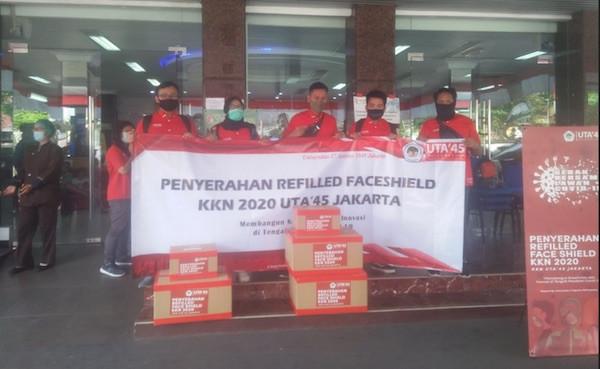 Untag Jakarta Salurkan Ribuan Face Shield ke Sejumlah Rumah Sakit - JPNN.com