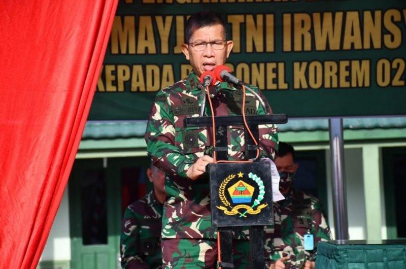 Pesan Penting Mayjen Irwansyah untuk Seluruh Prajurit Korem 023/KS - JPNN.com