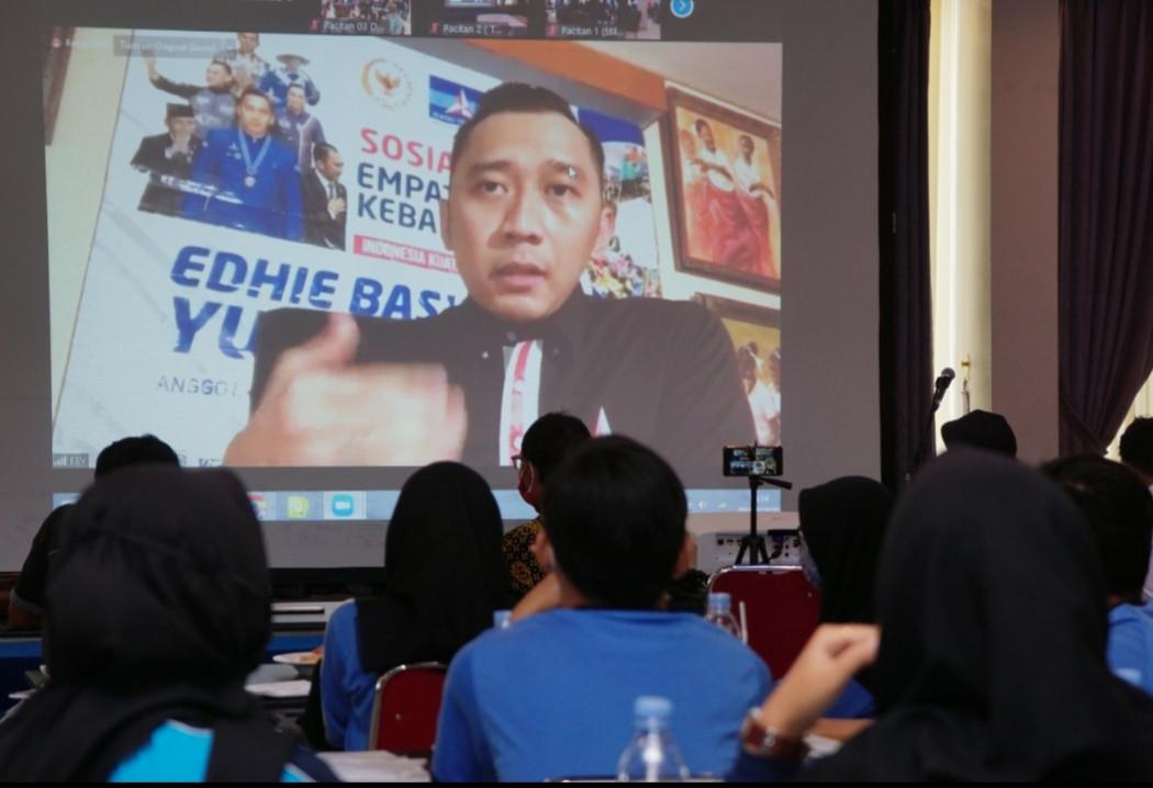 Gelar Sosialisasi Empat Pilar Kebangsaan, Begini Pesan Ibas Kepada Para Pelajar di Pacitan - JPNN.com