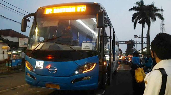 Kemenhub Akan Evaluasi Bus Bantuan Gratis di Stasiun Bogor - JPNN.com