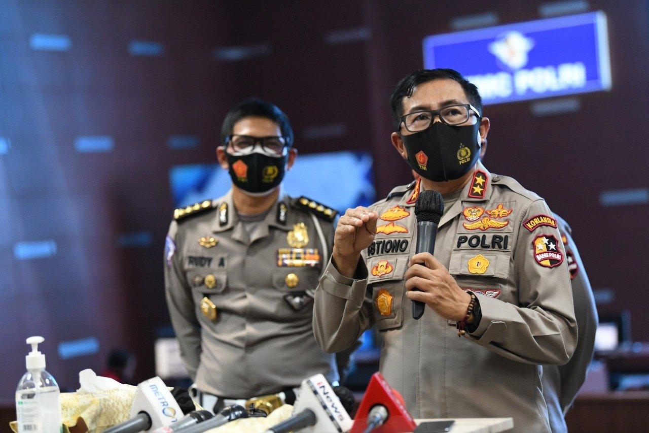 333 Titik Penyekatan Dijaga 166.734 Personel Gabungan, Masih Mau Mudik Lebaran Nanti? - JPNN.com