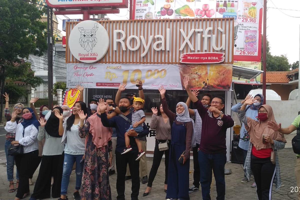 Royal Xifu Buka Gerai Baru di Tengah Pandemi COVID-19 - JPNN.com