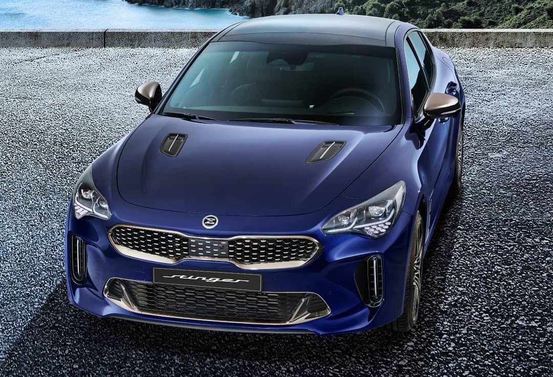 Penampakan Pertama Kia Stinger Facelift - JPNN.com