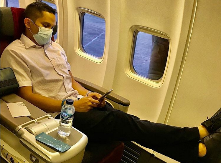 Konon Putra Amien Rais Berulah di Pesawat Garuda, Sampai Ribut dengan Wakil Ketua KPK - JPNN.com