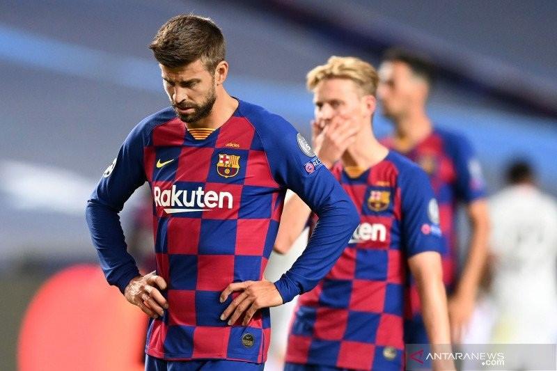 Pique Rela Meninggalkan Barcelona Setelah Dibantai Munchen - JPNN.com