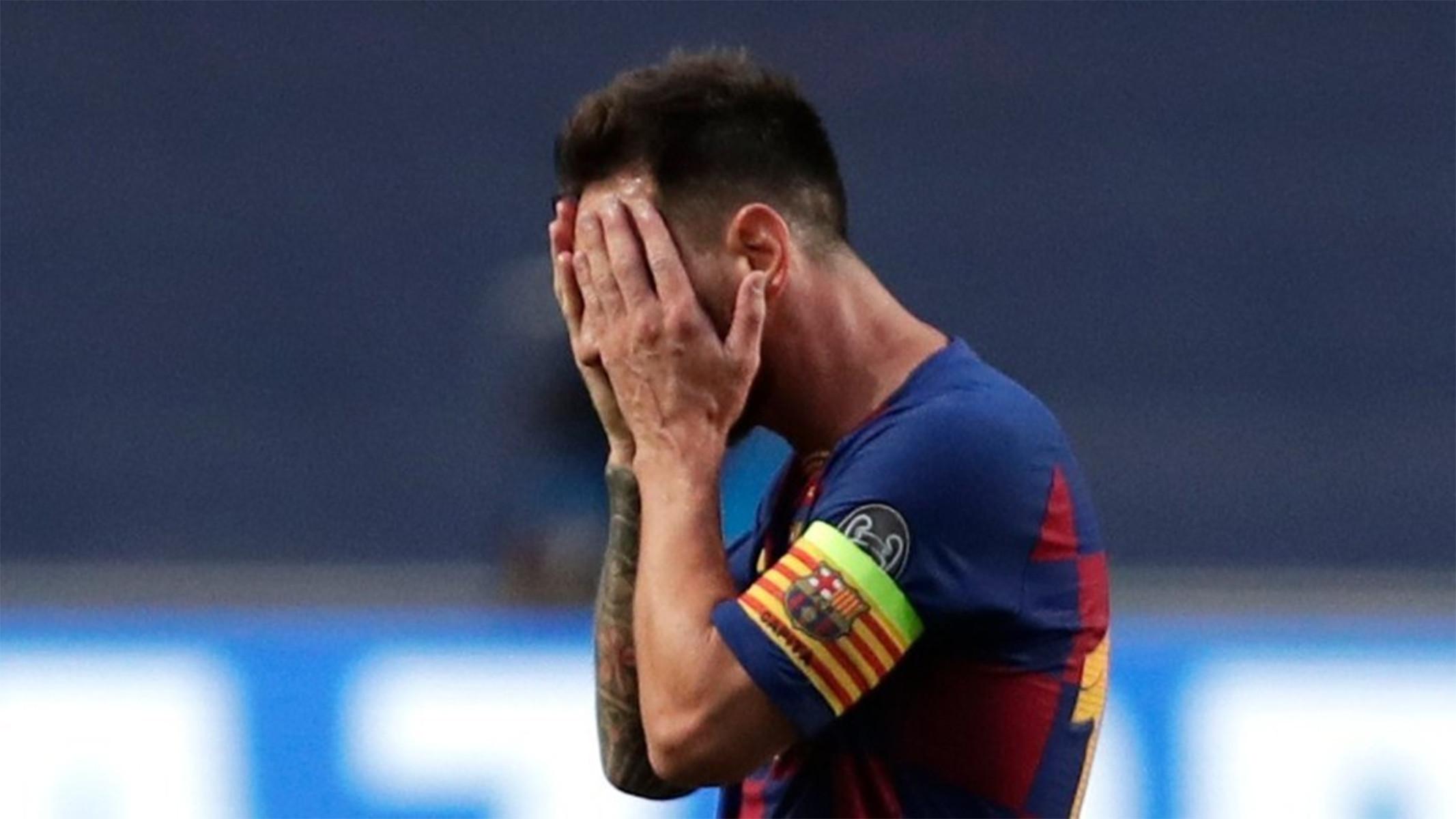 Begini Kondisi Messi Usai Barcelona Dihancurkan Bayern Muenchen 2-8 - JPNN.com
