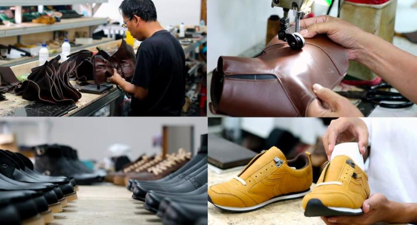 Masa Pandemi, Usaha Lokal ini Tetap Produksi 200 Sepatu per Hari - JPNN.com